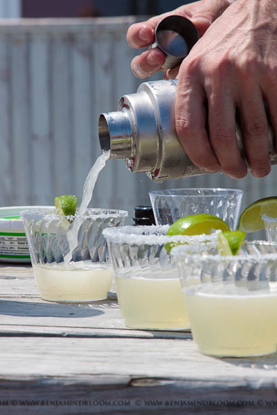 Cinco de Mansfield wouldn't be complete without margaritas.